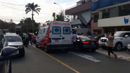Kenji llegó a la casa de Alberto Fujimori a bordo de una ambulancia