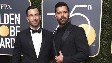 Ricky Martin sorprendió a su esposo en pleno discurso: