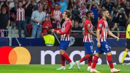Atlético de Madrid con doblete de Antoine Griezmann venció a Brujas en la Champions League