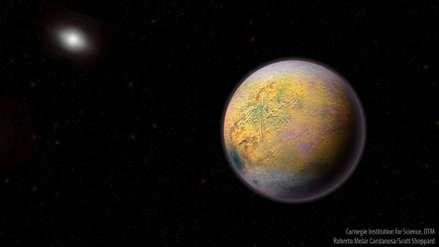 Científicos descubren un objeto dos veces y media más lejos del Sol que Plutón