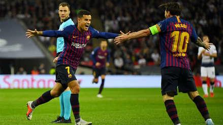 Barcelona venció al Tottenham por la segunda fecha de la Champions League
