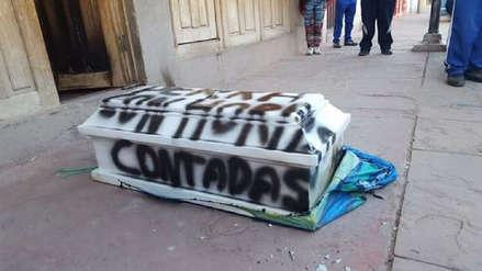 Perros muertos, explosivos y un ataúd: Las amenazas que reciben los candidatos en Puno