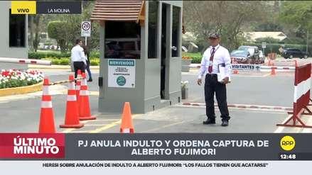 Alberto Fujimori: el panorama en los exteriores de su vivienda tras la anulación del indulto