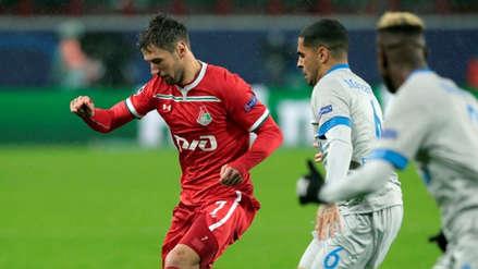 Lokomotiv sin Jefferson Farfán perdió 1-0 ante Schalke 04 por la Champions League