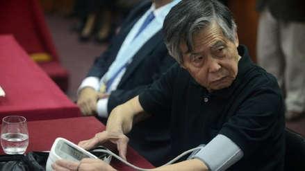 Alberto Fujimori fue internado en la clínica Centenario tras anularse su indulto
