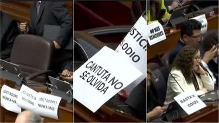 Guerra de carteles en el Congreso tras anulación de indulto a Alberto Fujimori