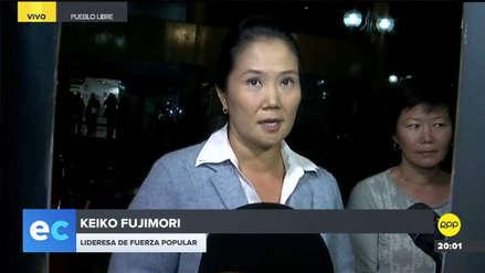 Keiko Fujimori sobre acusación de Roberto Vieira: Creo que malinterpretó a mi esposo
