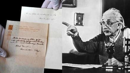 ¿Albert Einstein creía en Dios? Esta carta que será subastada tiene la respuesta