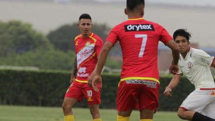 Universitario vs. Sport Huancayo: Jean Deza jugó en el Torneo de Reservas