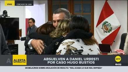 Daniel Urresti es absuelto en el caso del asesinato de Hugo Bustíos