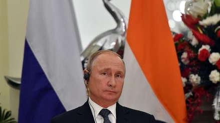 "Vladímir Putin: ""Todas las tropas extranjeras deberán salir de Siria tras la derrota de ISIS"""