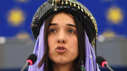 La historia de Nadia Murad: de esclava sexual del Estado Islámico a Nobel de la Paz