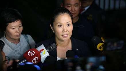 Keiko Fujimori a favor de proyecto de libertad anticipada para presos mayores de 80 años