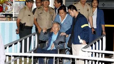 Poder Judicial rechaza solicitud de Alberto Fujimori para suspender su regreso a prisión