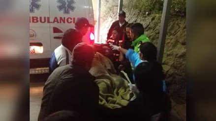 Caída de camión a abismo deja 24 heridos tras mitin en Otuzco