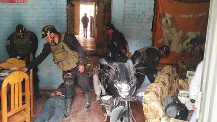"""Caen """"Los Injertos de Luján"""" con armas y unidades robadas"""