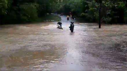 Al menos 388 casas afectadas en nueve municipios de Nicaragua por continuas lluvias