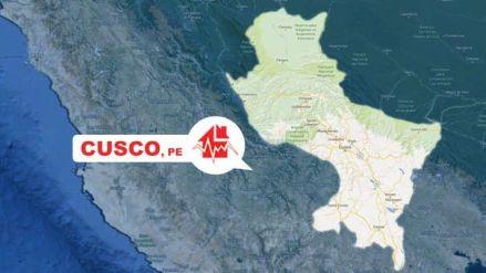 Cuatro sismos y cinco réplicas remecieron Cusco en las últimas doce horas