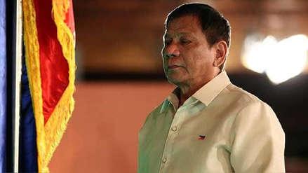 Duterte revela que se sometió a exámenes médicos y genera preocupación sobre su salud