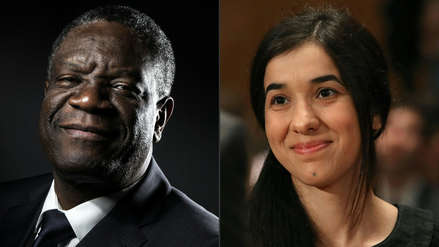 Dos luchadores contra la violencia sexual ganan el Nobel de la Paz