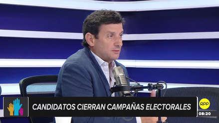 """Renzo Reggiardo: """"Se ha vendido mucho humo en esta campaña electoral"""""""