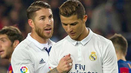 El mensaje de Sergio Ramos para Cristiano Ronaldo por la sequía de gol del Real Madrid