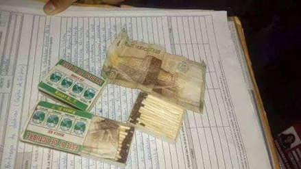 Elecciones 2018 | Detienen a personas por entregar dinero en cajas de fósforos