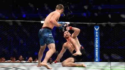 McGregor vs. Khabib:  impresionantes nocauts en las preliminares de la UFC 229 | VIDEO