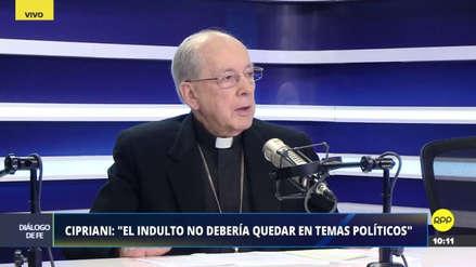 """Juan Luis Cipriani: """"Hay grupos que por ideología hacen del odio una bandera"""""""