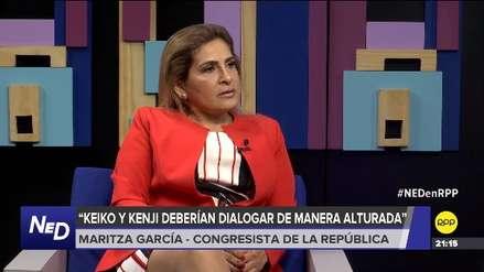 Maritza García propone a Fuerza Popular pagar reparación civil que adeuda Alberto Fujimori