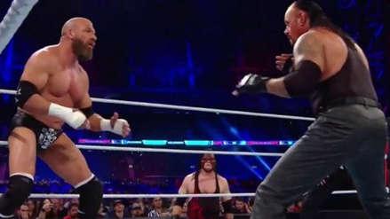 Triple H derrotó a Undertaker en un mítico enfrentamiento en el WWE Super Show-Down