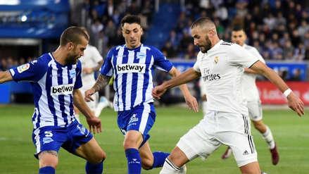 Real Madrid perdió ante Alavés y sumó más de 6 horas sin marcar