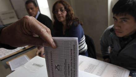 8 gobernadores virtualmente electos y 17 regiones a segunda vuelta, según el boca de urna