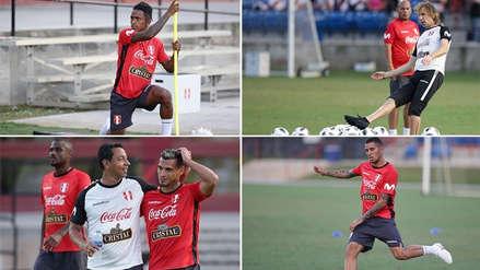 Selección Peruana volvió a entrenar en Miami con Yordy Reyna y Sergio Peña como novedades