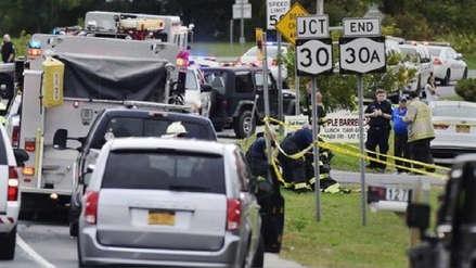 Murieron 20 personas en accidente de tránsito en estado de Nueva York