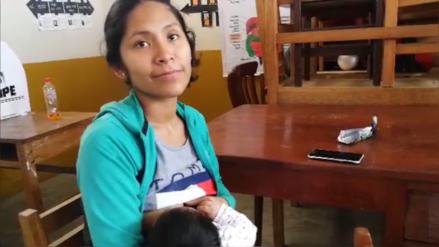 Elecciones 2018 | Madre ejerció como miembro de mesa con su hija de dos meses de edad