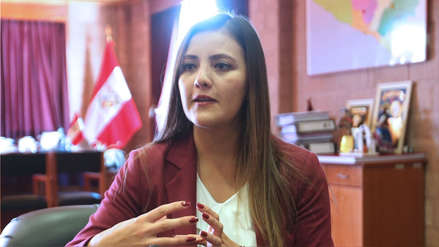 Yamila Osorio lamenta que ninguna mujer haya sido elegida gobernadora regional