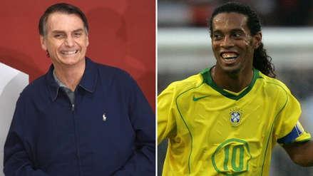 Elecciones en Brasil: Ronaldinho y su mensaje de apoyo al ultraderechista Jair Bolsonaro