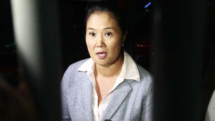 Keiko Fujimori insistirá para revocar anulación de indulto: La decisión del juez es injusta e inhumana