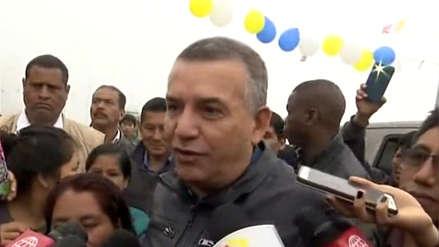 Urresti llegó a Ticlio Chico para realizar desayuno electoral y fue recibido con pachamanca