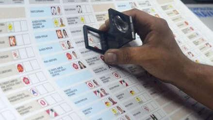 Elecciones 2018 | Ciudadano fue a votar y encontró su cédula marcada en Chiclayo