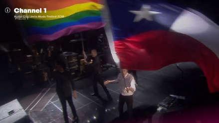 Paul McCartney quiso mostrar la bandera de Texas en EE.UU. pero sacó la de Chile