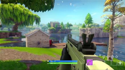 Video | Así es jugar Fortnite en modo primera persona