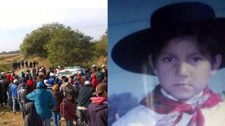 Autoridades extraen ADN a 3 mil personas para resolver asesinato de niño argentino