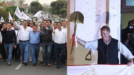 Alianza para el Progreso y Acción Popular, los partidos ganadores de estas elecciones regionales y municipales