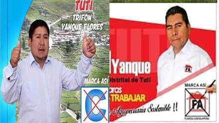 Candidatos a alcaldía empatan en votos y ganador se definirá por sorteo en distrito de Arequipa