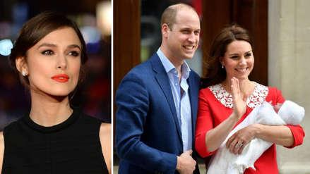 Keira Knightley criticó a Kate Middleton por la imagen postparto que mostró a los medios