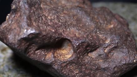Un meteorito valorado en US$ 100,000 fue usado por décadas para trancar la puerta