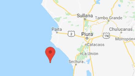 Un sismo de magnitud 4.2 sacudió Sechura esta noche