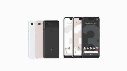 Google presentó los nuevos teléfonos Pixel 3 y 3 XL